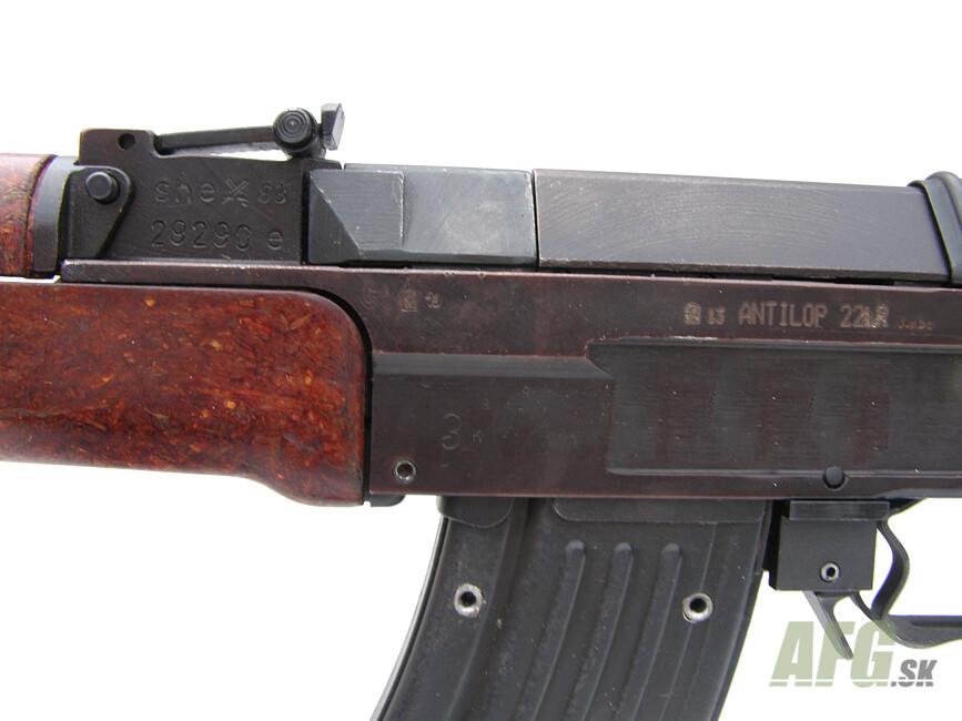 Small-bore rifle submachine gun vz 58 with fixed stock 1