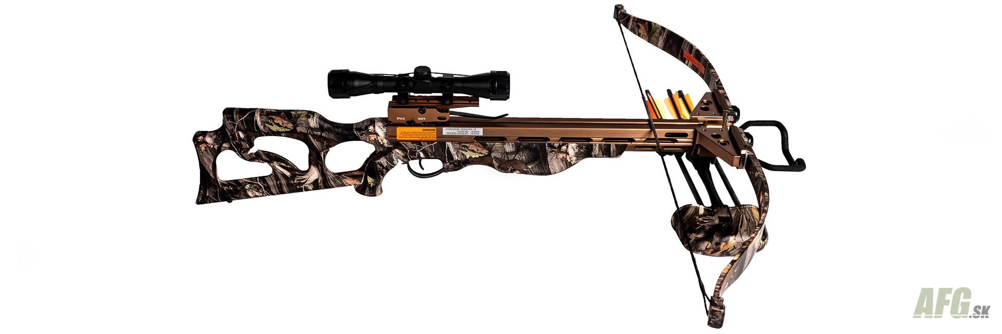 Crossbow recurve Ek-Archery Desert Hawk, camo, 225 lbs - AFG-defense