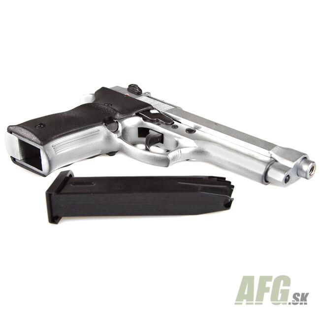 Gas pistol Ekol Jackal Dual nickel, cal 9mm Knall Full AUTO