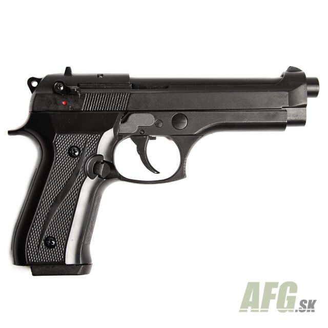 Gas pistol Ekol Jackal dual black, cal 9mm full auto - AFG