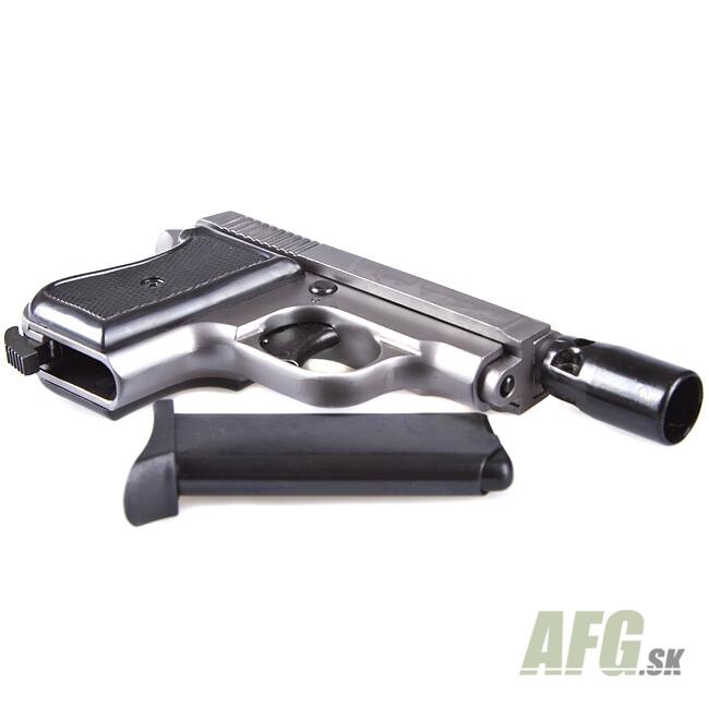 Gas pistol Ekol Tuna titanium, cal 8mm Knall - AFG-defense
