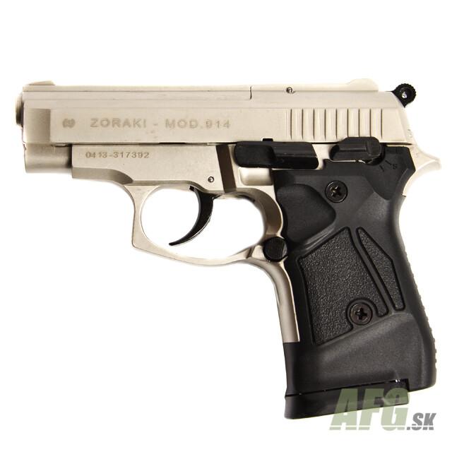 gas pistol atak zoraki 914 auto nickel cal 9mm knall weapons and rh afg defense eu