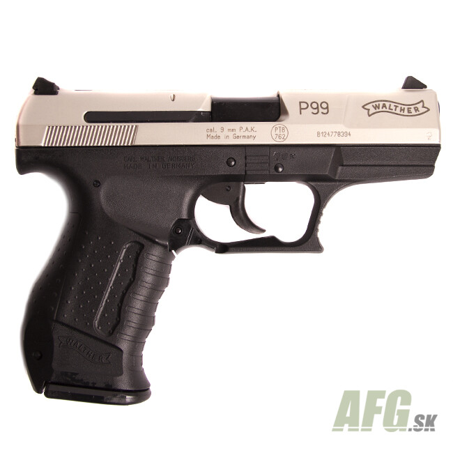 gas pistol walther p99 bicolor cal 9 mm weapons and ammunition