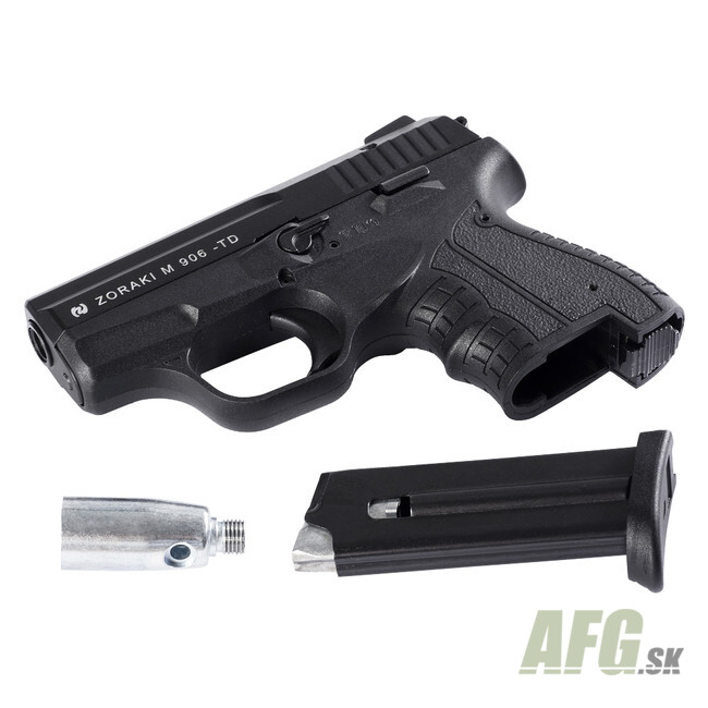 Gas Pistol Zoraki 906, black, cal  9 mm - AFG-defense eu