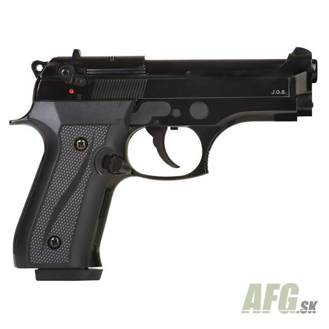 Gas pistol Ekol Jackal dual Compact black, cal 9mm Knall