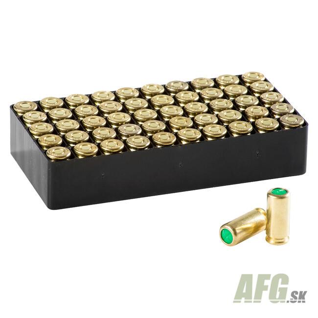 Blank cartridge Maxx Tech 9 mm P A K  50 pc - AFG-defense eu