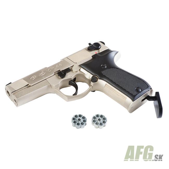 Air pistol Umarex Walther CP88 nickel, cal  4 5 mm - AFG-defense eu