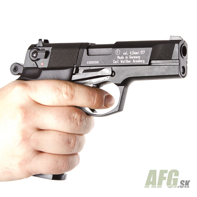 Air pistol Umarex Walther CP88 black, cal  4 5 mm - AFG