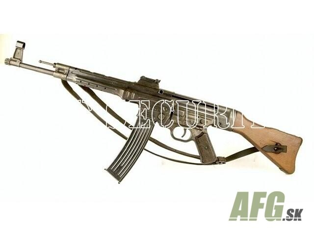 Replica rifle stg 44 with strap weapons and ammunition for Amo manufacturing spain