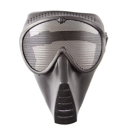 Airsoft mask medium black