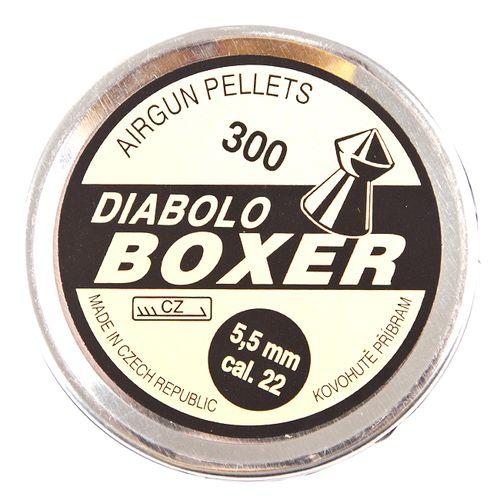 Pellets Boxer, 300 pcs, cal. 5,5 mm