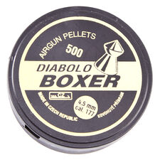 Pellets Boxer, 500 pcs, cal. 4.5 mm
