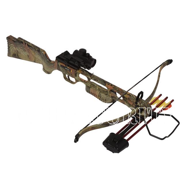 crossbow recurve jaguar i camo 175 lbs weapons and. Black Bedroom Furniture Sets. Home Design Ideas