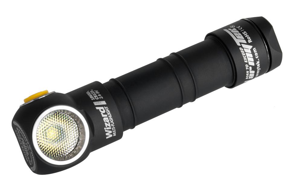 Led Headlamp Armytek Wizard Pro V3 Xhp50 Magnet Usb 18650 Li Ion