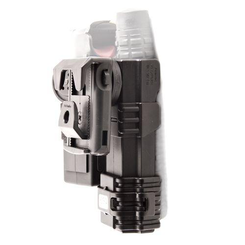Plastic case for baton end spray double, rotary SH-21-SH-04