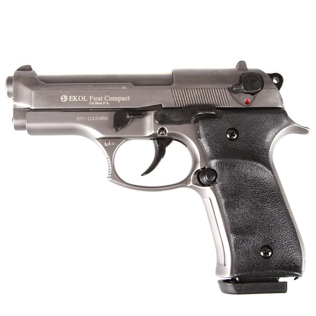 Gas pistol Ekol Firat Compact, titan cal 9mm - AFG-defense