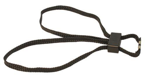 Handcuffs textile disposable black HT-01-B