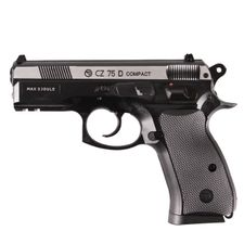Airsoft pistol CZ 75 D DuoTone CO2 4.5 mm, black