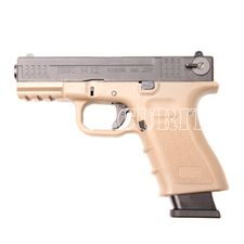 Airsoft pistol M22 CO BB 6 mm, tan