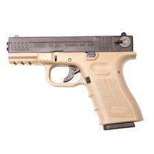 Airsoft pistol M22 Gas BB 6 mm, tan