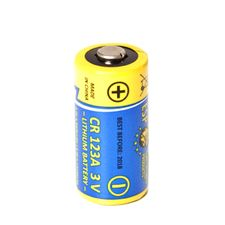 Battery lithium CR 123 A - 3 V