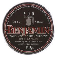 Pellets Benjamin 500 cal. 5,0 mm 500 pcs
