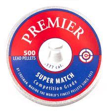 Pellets Crosman Premier Super Match, 500 pcs, cal. 4,5 mm (.177