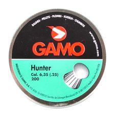Pellets Gamo Hunter 200pcs cal.6,35mm