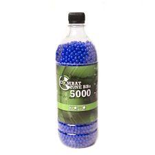 BB bullets 6mm Combat Zone 0.12 g 5000 pcs, blue