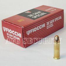 Ball cartridge Fiocchi .38 SW FMJ /10.24 g /158 grs /50 pcs