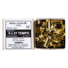 Butcher cartridge 9 x 27 mm TEMPO st.6 / 50 pcs