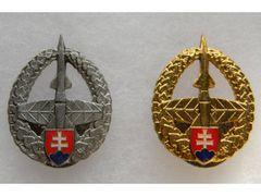 Badge of Slovak rocket forces