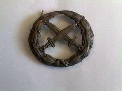 Badge Crossed Swords Kokard