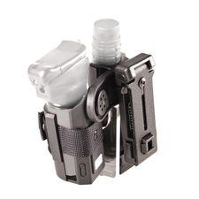 Plastic case for baton end spray double, rotary SH-121-SH-14