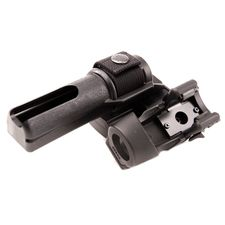Plastic case for baton end flashlights double, rotary BH-LHU-05