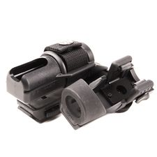 Plastic case for baton end flashlights double, rotary BH-LHU-14