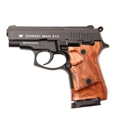 Gas pistol Atak Zoraki 914 Auto black, cal.9 mm, black gunstock