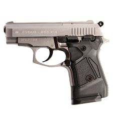 Gas pistol Atak Zoraki 914 auto titanium, cal.9mm knall