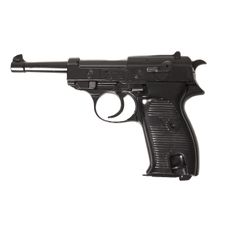 Gas pistol Bruni P38 black cal.8 mm