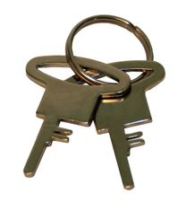 Handcuffs police 9921 spare keys 1 pcs