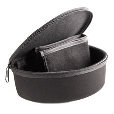 Pouch with zipper and belt clip for ballistic glasses Peltor