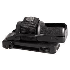 Rotary plastic case for expandable baton BH-14