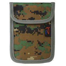 Signal-blocking case 16 x 11,70 cm camo