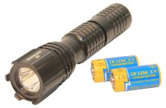 Tactical flashlight Barracuda 3 Led with chip cree