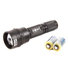 Tactical flashlight Helios with Ultrazoom