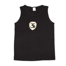 Singlet colour black, gold logo