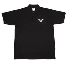 Shirt  Heavy AFG eagle Polo, color black