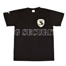 T-shirt, colour Black, gold logo