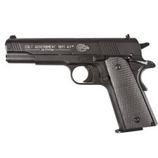 Air pistol Colt Government 1911 black, cal. 4.5 mm