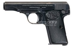 Deactivated pistol Fn 1910 cal. 9 Browning